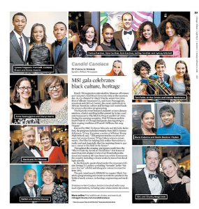 Black Creativity Gala in Chicago Tribune