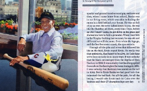 Mila's Sports Illustrated image of Ernie Banks.