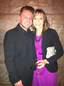 Rob Christopher and Christina Thomas