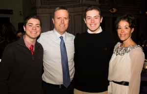 Kyle, Marty, Connor and Debbie Loughlin