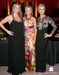 Courtney Krupa, her mom Kathleen Casey and friend Tracy Scurto