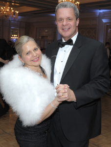 WB president Lisa Weber and husband Michael.
