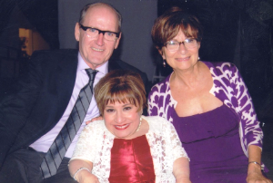 Richard Jenkins and wife Sharon with Tekki Lomnicki