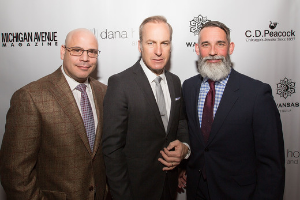 Spring release issue party hosted by Dan Uslan and JP Anderson with coverboy Bob Odenkirk.