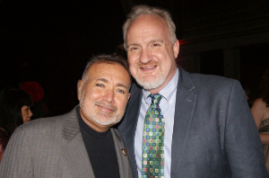 Honorary co-chairs Jesus Salguiero and Chef Art Smith