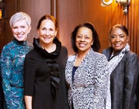 Nancy Daigler, Laurie Metcalf, Stephanie Smith and Regenia Stein