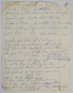 Fire Mountain personal correspondence