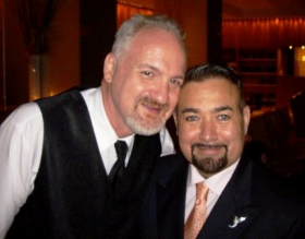 Chef Art Smith and husband Jesus Salgueiro