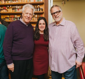 Bannos brothers with Andrea Dres (Windy City Live)