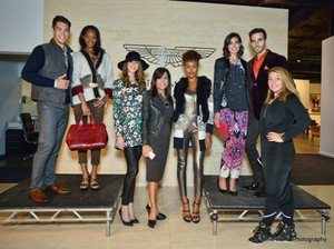 Tracey DiBuono with Neiman Marcus Michigan Avenue fashions and models