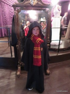A young wizard in training