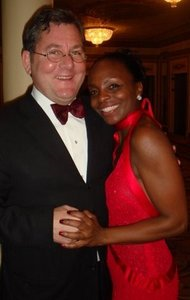 Late Chef Trotter with wife Rochelle