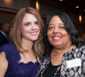IWT Board member Kim Angel and ED Angela Hicks