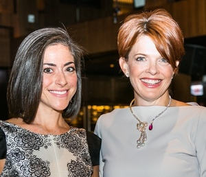 Co-chairs Ellie Forman and Kathleen Henson (Pic by Hilary Higgins)
