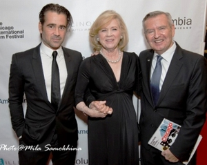 Colin Farrell, Liv Ullmann and Michael Kutza