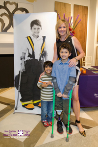 Kathleen Courtney with Rishi and Kavi Pandya