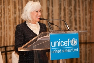 Dolores Kohl, 2013 UNICEF Chicago Humanitarian Award recipient