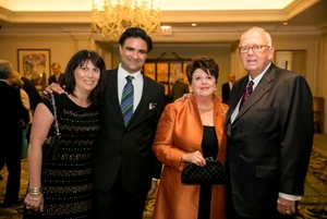 Keri and Phillip Bahar and CHF Humanists of the Year Jeanne & John Rowe