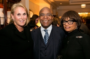 Susan Crown, Peter and Linda Bynoe