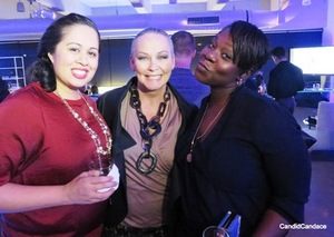 With WCIU producers Melissa Perez and Nika Clark.