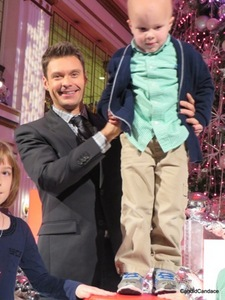 Seacrest with 4 year-old Chase.
