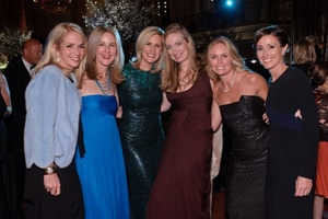 Meredith Wood-Prince, Susan Canmann, Elizabeth Cole, Stephanie Fisher, Jacky Ferro and Eileen Murphy
