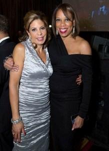 Andrea Zopp and Cheryle Jackson