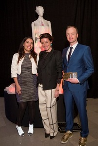 Francesca Rosella, Garance Dore and Ryan Genz