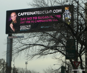 My billboard on the Eisenhower