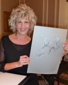 Artist Rosemary Fanti