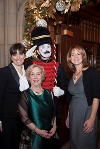 Molly Philosophos, co-chair Bonnie Rickard and Deb Poe