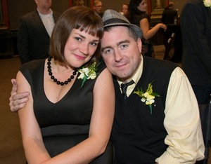 Lindsey Thornton and Artistic Director Michael Patrick Thornton