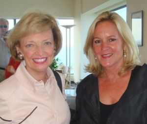 Besties - Mary Lou Gorno with Leslie Hindman
