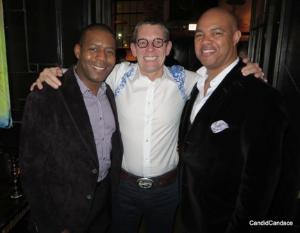 Marcus Boggs, Gary Zickel and Geoff Dixon
