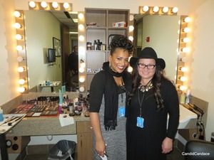 Makeup artist Amana Marleen Jones and hairstylist Dorota Pabian.