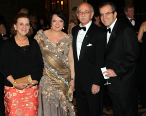 Dr. Kornelia Krol (event chair, 2nd from L) and friends.