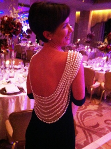 Joanna Dobecka's elegant gown.