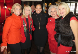 Melissa Babcock, Leslie Zentner, Rebecca Besser, Lynda Silverman and Tina Weller.