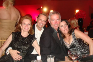 Sheryl Dyer, David Brandt, Paul Rehder and Nicole Jacob Delahanty at past COH Oscar Party