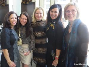 Sophie Bross, Christine Nappo  Melissa McNally, Liz Ryan and Ruth Thurston.