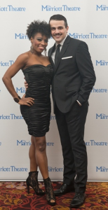 Monique Haley and Javier Ferreira