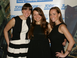 YLC Member Brittany Korb, Erica Tursi and guest