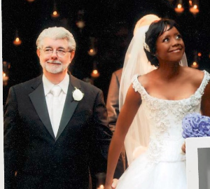 George and Mellody's glam wedding