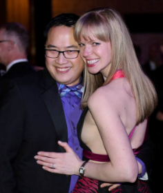 Peter Kuo and Elena Samokhina