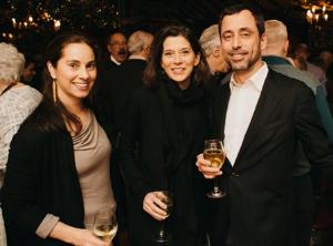 Sana Hakim, Mary Kenney and David Manilow (Check Please!)