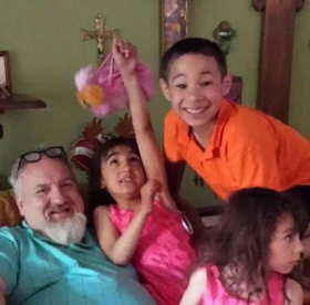 Chef Art Smith and Jesus'  cute family