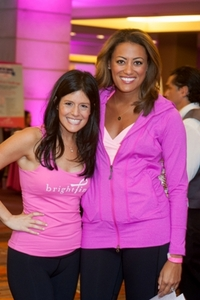 Bright Pink founder Lindsay Avner and Lauren Jiggetts