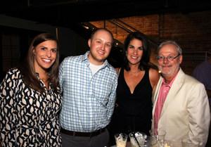 Kacy and Dan Raffe, Julie Stevens, John Ortbal