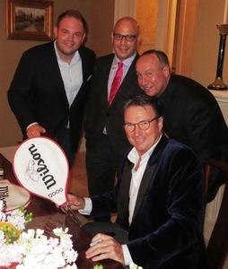 Andrew Hart, Dan Uslan, Michael Maglocci and Jimmy