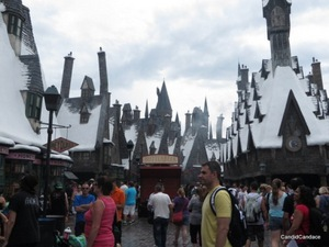 Snow-capped Hogsmeade